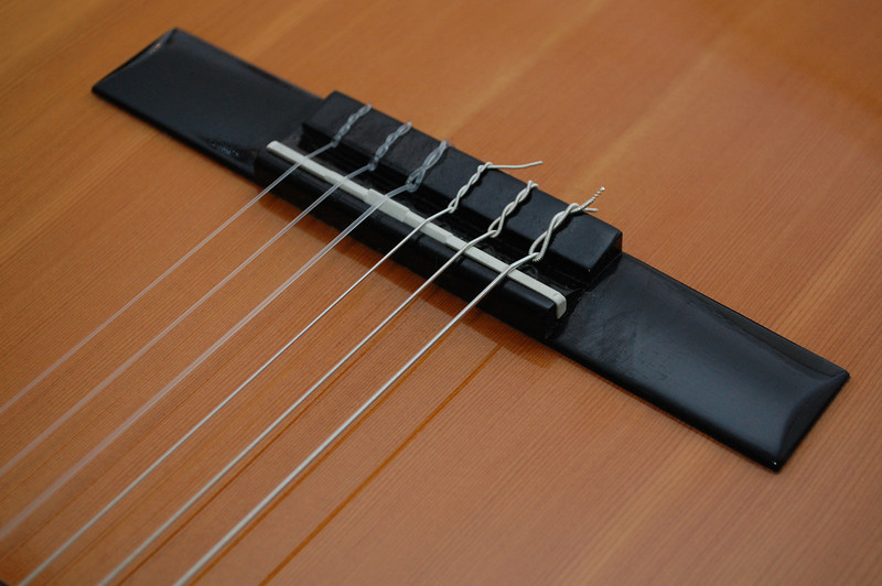 "Setup and re-string of a customer's Raimundo model 112 Nylon string classical guitar. By  <a href=""http://www.guitartechnician.co.uk"">http://www.guitartechnician.co.uk</a>"