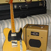 Bill Nash '54 Telecaster (custom built) and Swart Space Tone Amp