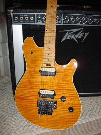 2000 Peavey EVH Wolfgang and 1974 Peavey Mace Amp