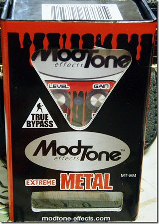 Mod Tone Effects Extreme Metal Pedal