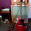 1 Guitar and 2 Amps and 2 Cabs