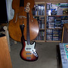 Fender American Deluxe Fretless Jazz Bass and Contrabass Violin