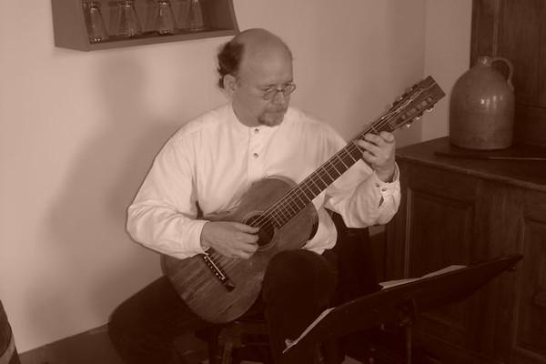 C. Bruno parlor guitar
