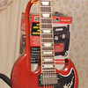 1986 Gibson SG Standard autographed by Steve Howe and Steve Hackett of GTR