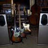 Fender American Deluxe Basses and '59 Thinskin Jazzmaster reissue