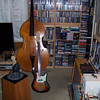 Fender American Deluxe Fretless Jazz Bass; Contrabass Violin; Fender '63 Reissue Reverb; Fender '59 Reissue Bassman LTD; THD Hot Plate