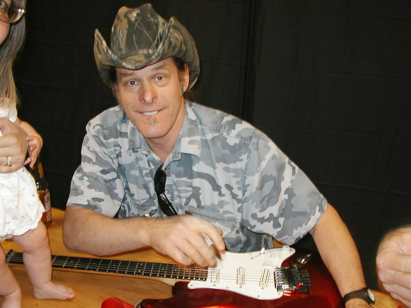 Fender Stratocaster and Ted Nugent