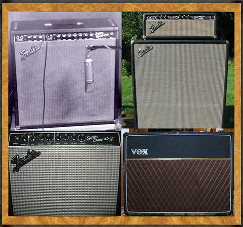 Four Amps for Gigging