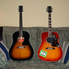 1999 Gibson J-45 and 1997 Gibson Hummingbird