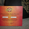 Gibson Certificate of Authenticity