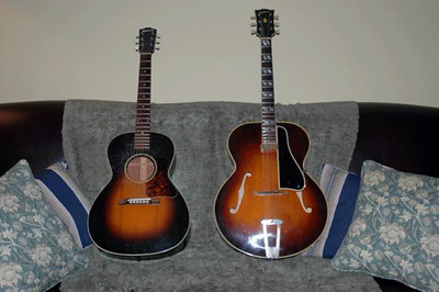 1930s Gibson L-00 and 1947 Gibson L-4