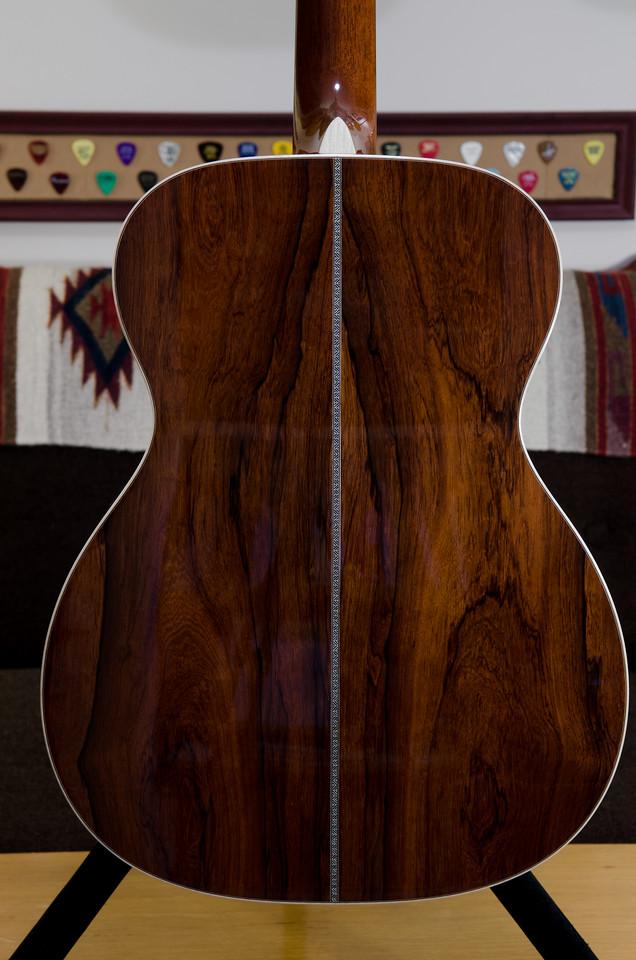 Premium Madagascar rosewood back and sides