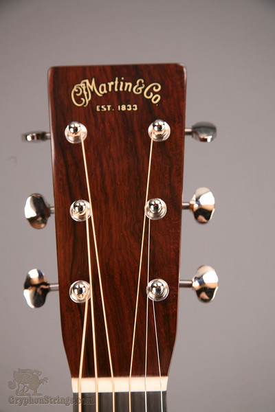 Madagascar rosewood headplate.