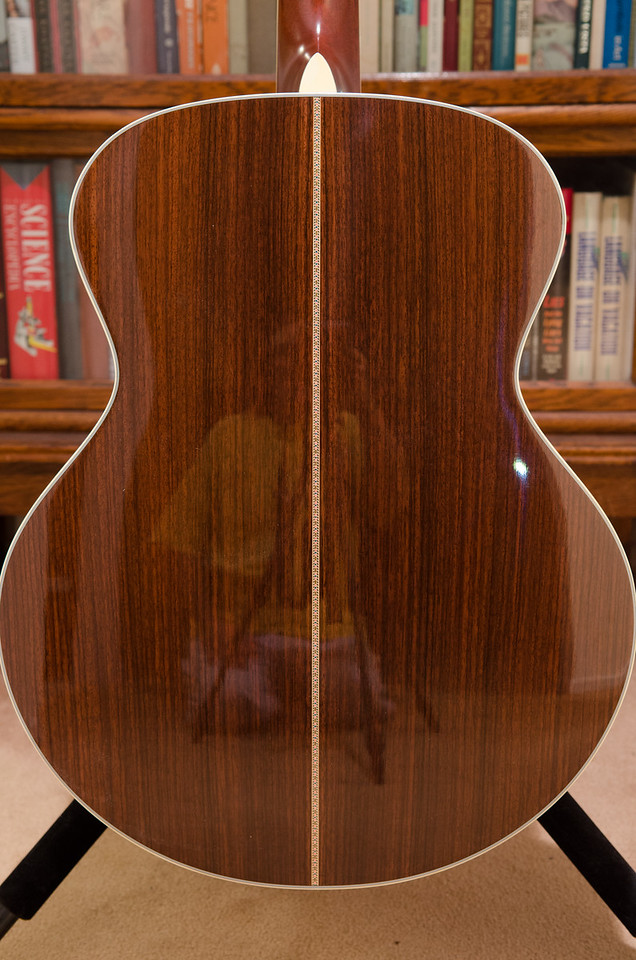 East Indian rosewood body