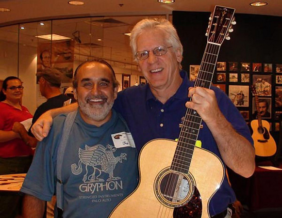 With Dick Boak, summer 2008.