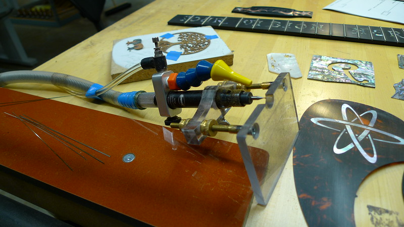 Now this is the way to set up your inlay router!