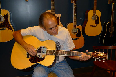 The new Jorma Kaukonen  M-30.  We're all raving about it.  It has the same binding as my 2008 OM-30 DB Pat Donohue, they're the only 2 guitars to have it since the 1920's.   This is a great guitar.