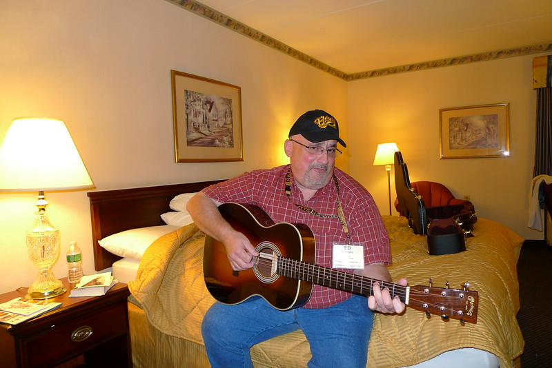 Ed Modanio (D50Ed) trying out my guitar.<br /> It's a heartfelt ballad, I can guarantee you.