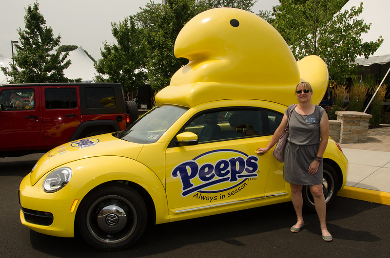 The Lehigh Valley is not only the home of Martin Guitars, but also of Peeps, which are always in season!