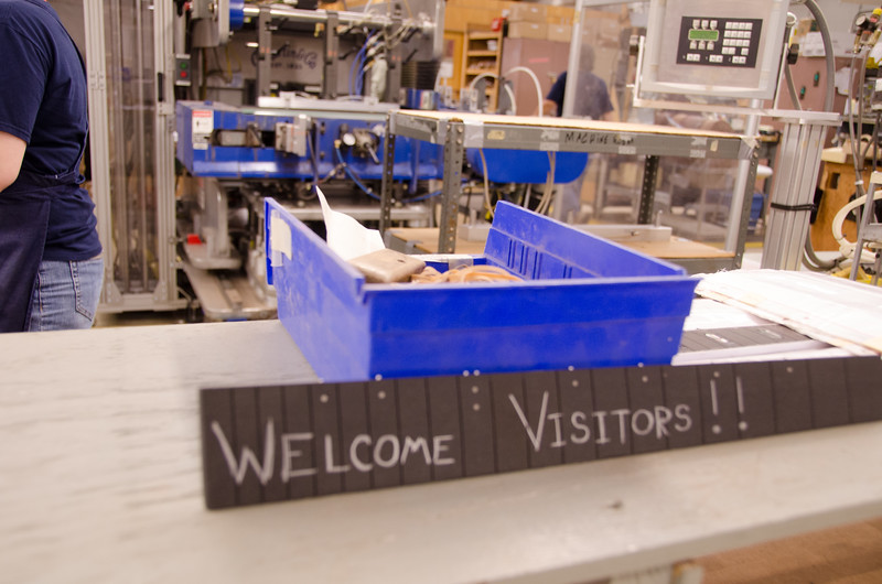 It's factory work, and sometimes repetitive, but they are very proud of what they do here.