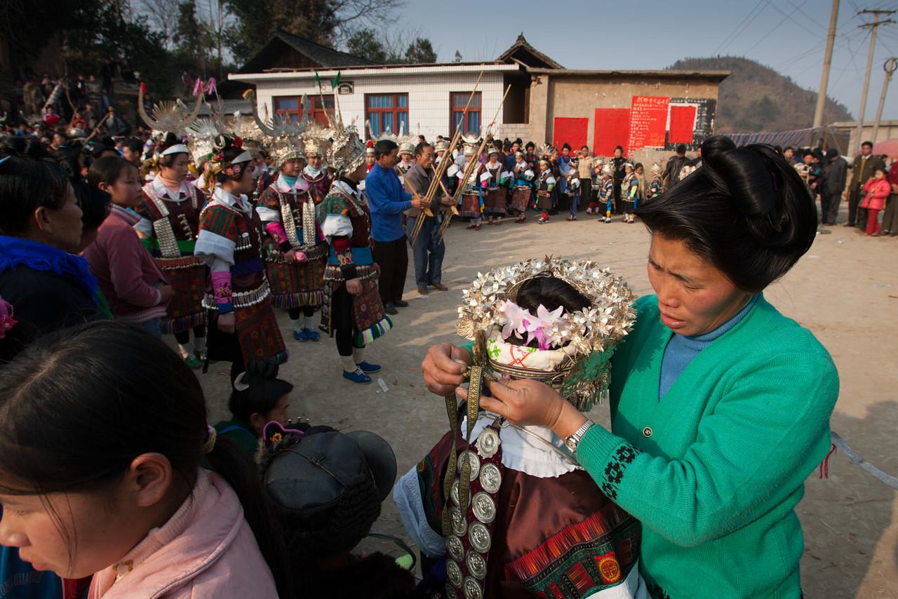 Lusheng festival. Longchang.