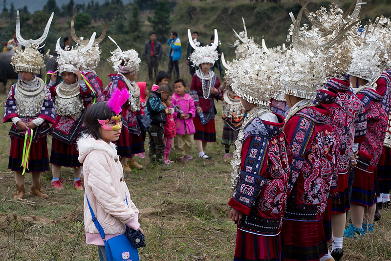 Festival. Kaitang, not far from Kaili.