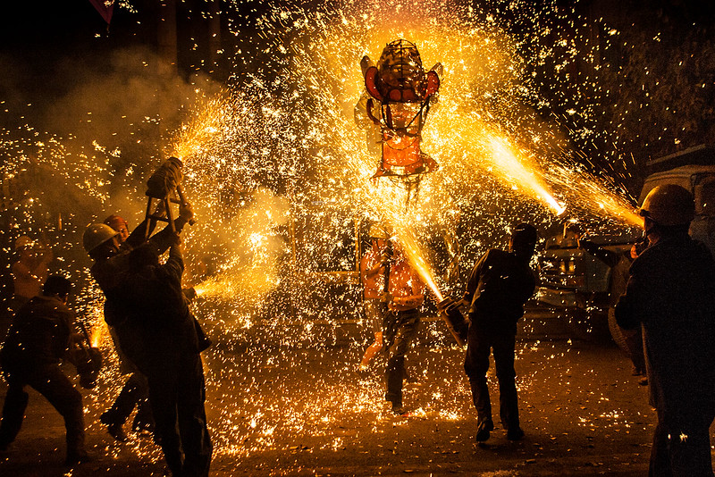 Setting the dragon on fire, Taijiang.