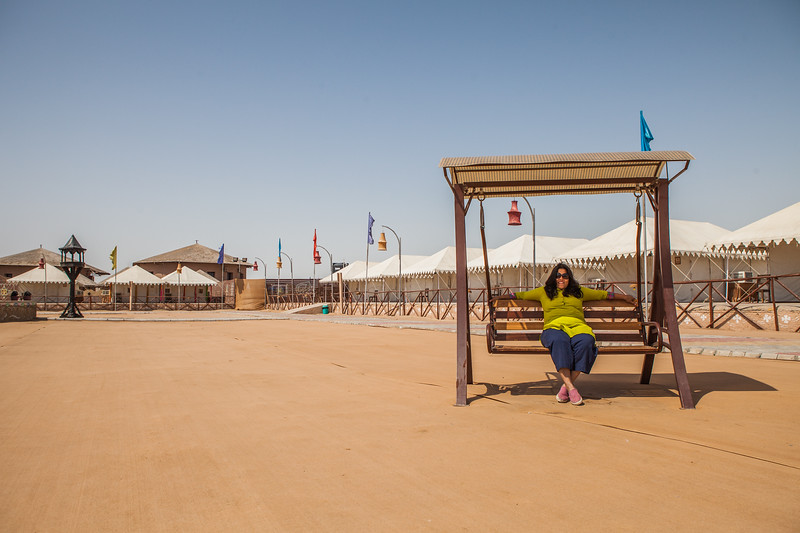 White Rann Resort in Kutch, Gujarat, India
