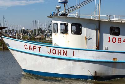 Capt. John I at Kemah