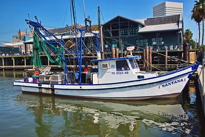 Santana Docked at 20th St. Pier