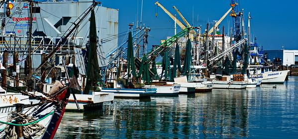 Shrimp Boat Dock at 20th Street Pier