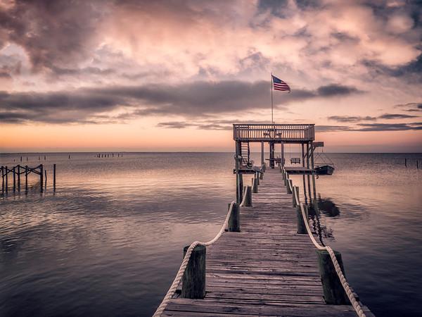 Patriotic Portersville Bay