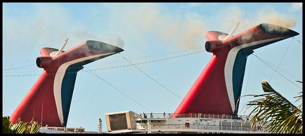 Carnival Smokestacks