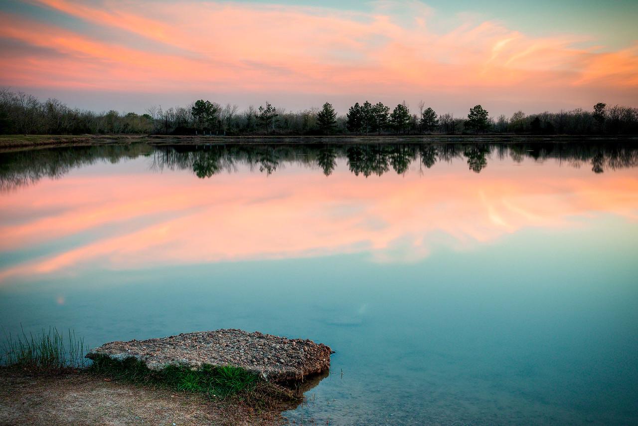 George Bush Park Sunset
