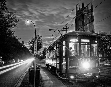 Streetcar at Night