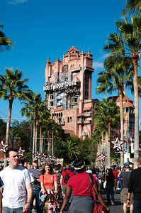 Hollywood Tower in Hollywood Studios at Disney World.