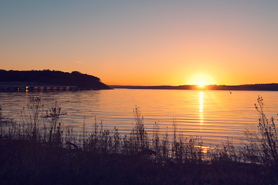 Canyon Lake Sunset