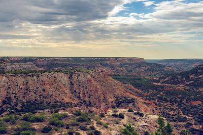 Palo Duro Canyon Landscape
