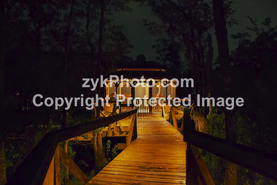 GulfCoast008-Gazebo at Night