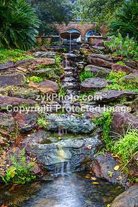 GulfCoast022-Bellingrath Cascading Waterfall