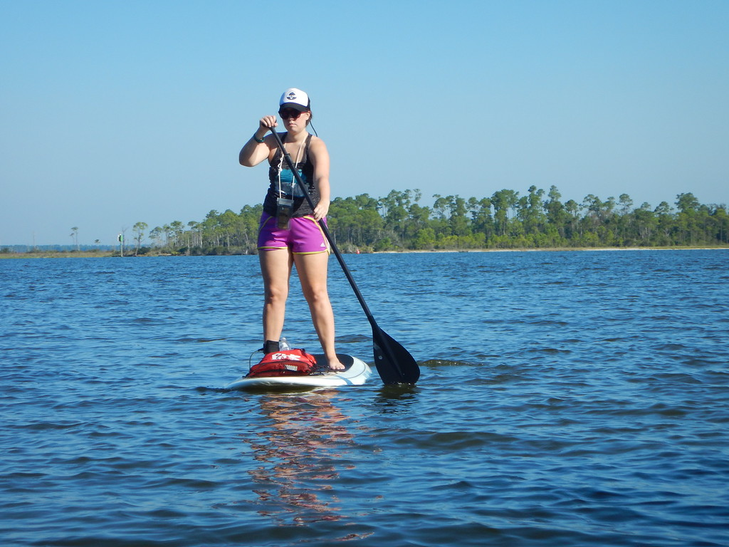 Paddleboarding in Gulf Shores
