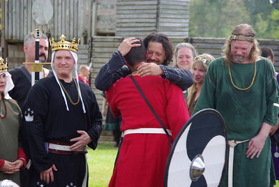 knighting of Ragnar