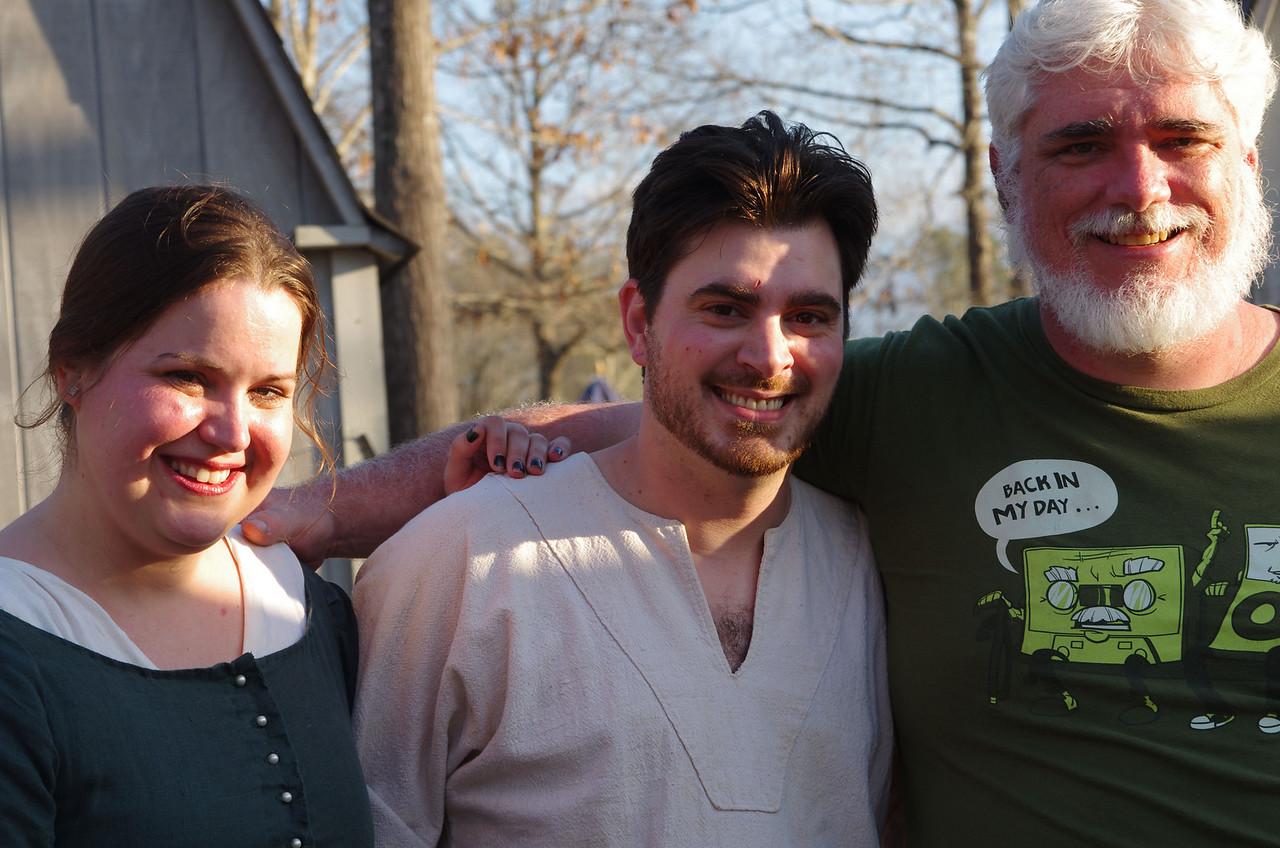 Courtney, Bryant, & Fenris