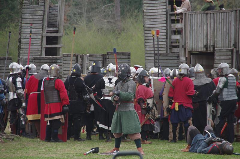 fort battle