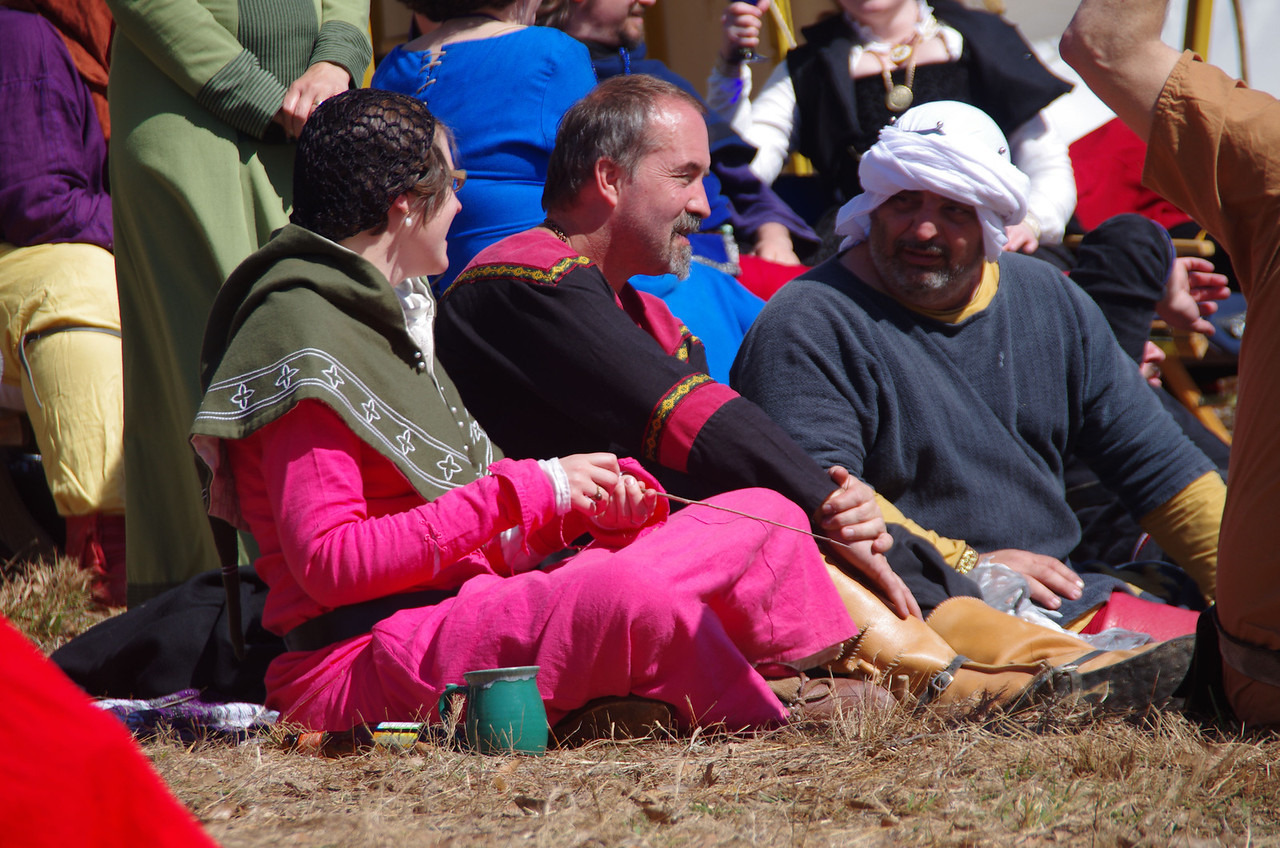 Calontir rapier watching party