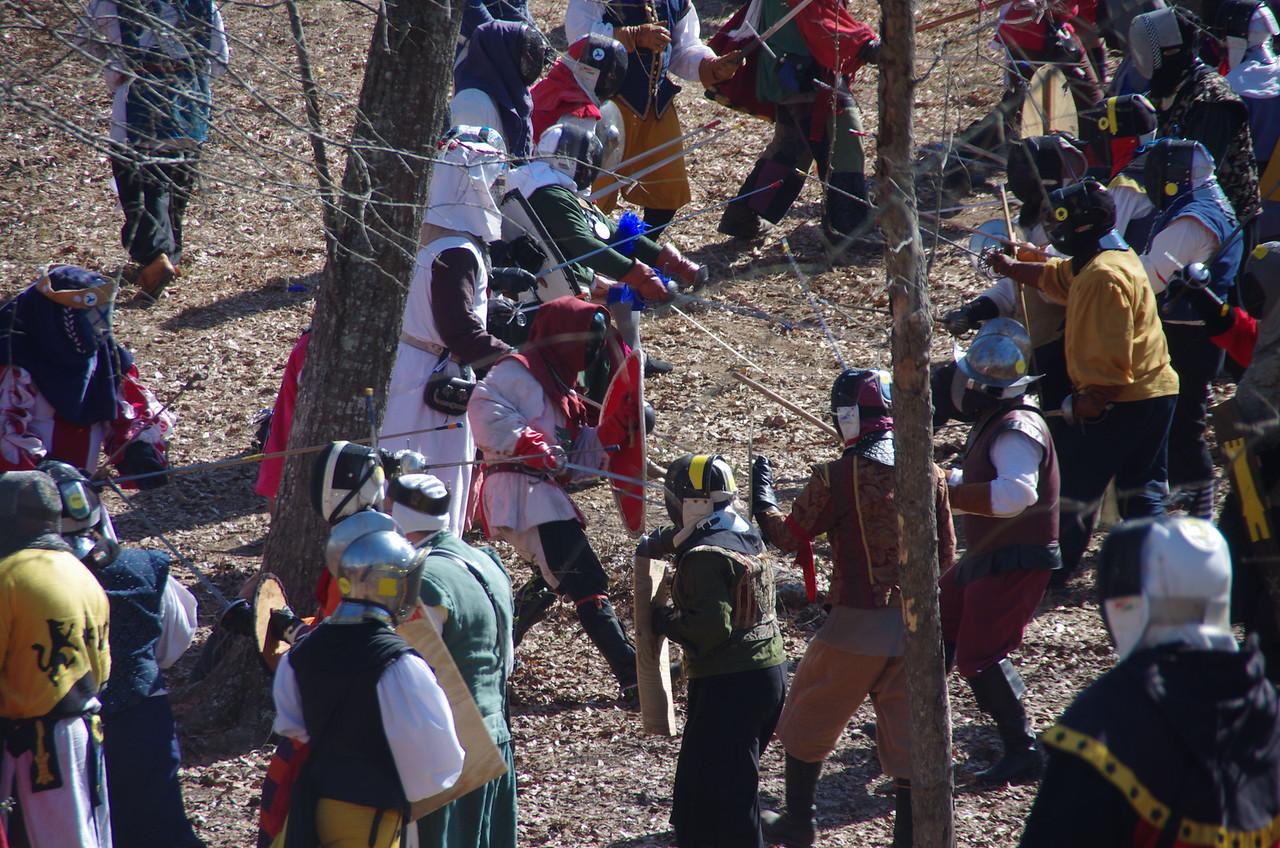 Rapier Ravine Battle