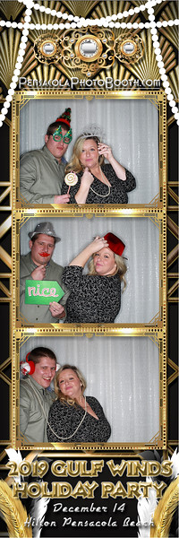 Gulf Winds Federal Credit Union Holiday Party with Pensacola Photo Booth 2019