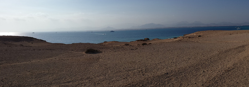 Looking over towards Sharm El Sheikh