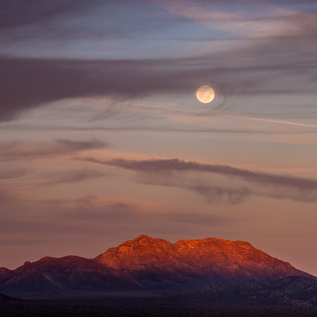 Moonrise in Sonora