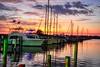 Bear Point Marina sunset
